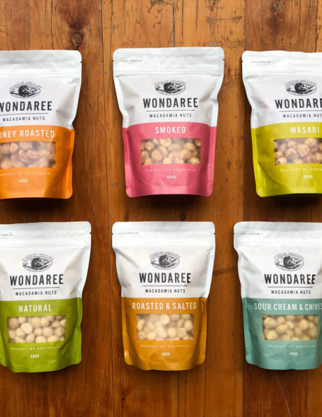 Wondaree Macadamias 400grams