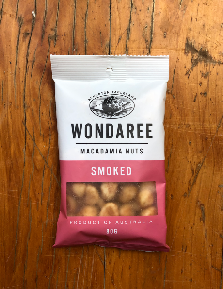 Wondaree Macadamias Smoked 80g