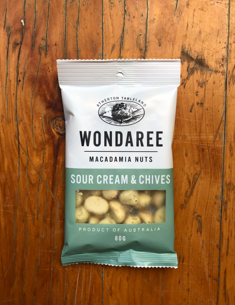 Wondaree Macadamias Sour Cream 80g
