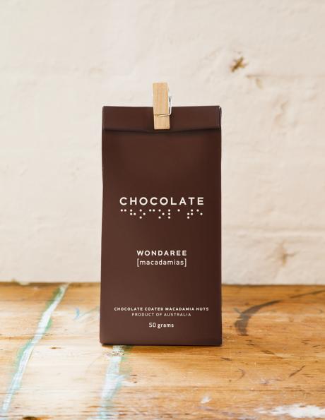 Wondaree Macadamias Chocolate Visual