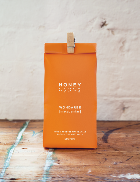Wondaree Macadamias Honey Roasted Visual