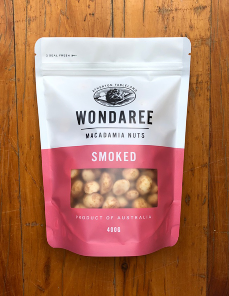 Wondaree Macadamias Smoked 400g