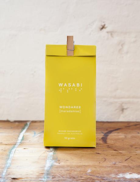 Wondaree Macadamias Wasabi Visual