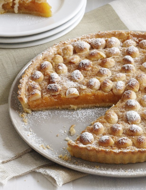 Wondaree Golden Syrup and Macadamia tart Delicious Mag