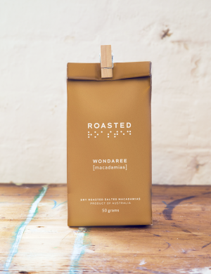 Wondaree Macadamias Dry Roasted/Salted Visual