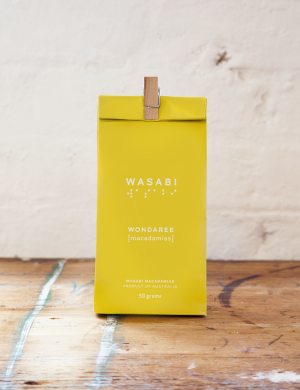 Wondaree Macadamias Wasabi Visual